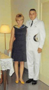 Ray and Elaine Theriault in the 1960's